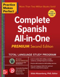 Practice Makes Perfect: Complete Spanish All-in-One 2nd Edition – PDF ebook