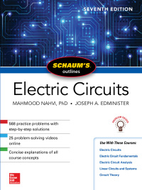 Schaum's Outline of Electric Circuits 7th Edition – PDF ebook