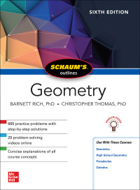 Schaum's Outline of Geometry 6th Edition by Christopher Thomas; Barnett Rich – PDF ebook