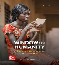 Window on Humanity: A Concise Introduction to General Anthropology 8th Edition – PDF ebook