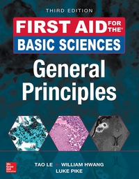 First Aid for the Basic Sciences, General Principles 3rd Edition – PDF ebook