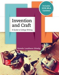 Invention and Craft: A Guide to College Writing 1st Edition – PDF ebook