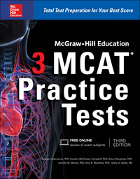 McGraw-Hill Education 3 MCAT Practice Tests 3rd Edition – PDF ebook