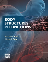 Body Structures and Functions Updated, 13th Edition – PDF ebook*