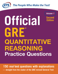 Official GRE Quantitative Reasoning Practice Questions, Volume 1 2nd Edition – PDF ebook
