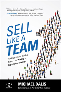 Sell Like a Team: The Blueprint for Building Teams that Win Big at High-Stakes Meetings 1st Edition – PDF ebook