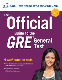 The Official Guide to the GRE General Test 3rd Edition – PDF ebook