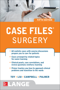 Case Files Surgery 5th Edition by Eugene C. Toy; Terrence H. Liu; Andre R. Campbell; Barnard Palmer – PDF ebook
