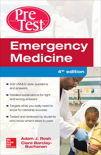 Emergency Medicine PreTest Self-Assessment and Review 4th Edition – PDF ebook