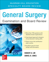 General Surgery Examination and Board Review 1st Edition – PDF ebook