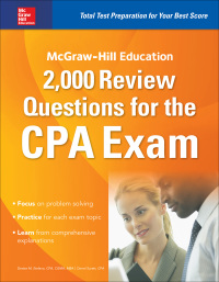 McGraw-Hill Education 2,000 Review Questions for the CPA Exam 1st Edition – PDF ebook
