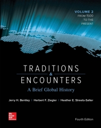 Traditions and Encounters: A Brief Global History Vol 2 4th Edition – PDF ebook