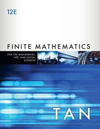 Finite Mathematics for the Managerial, Life, and Social Sciences, 12th Edition – PDF ebook*