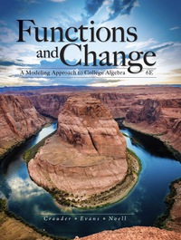 Functions and Change: A Modeling Approach to College Algebra, 6th Edition – PDF ebook*