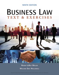 Business Law: Text & Exercises, 9th Edition – PDF ebook*