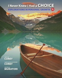 I Never Knew I Had a Choice: Explorations in Personal Growth, 11th Edition – PDF ebook*