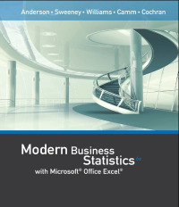 Modern Business Statistics with Microsoft Office Excel (with XLSTAT Education Edition Printed Access Card), 6th Edition – PDF ebook*