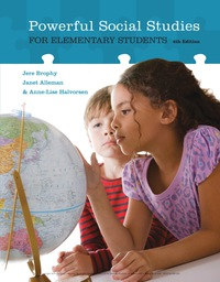 Powerful Social Studies for Elementary Students, 4th Edition – PDF ebook*