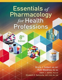 Essentials of Pharmacology for Health Professions, 8th Edition – PDF ebook*