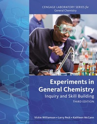 Experiments in General Chemistry: Inquiry and Skill Building, 3rd Edition – PDF ebook*