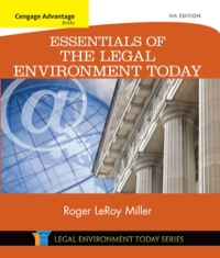 Cengage Advantage Books: Essentials of the Legal Environment Today, 5th Edition – PDF ebook*