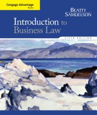 Cengage Advantage Books: Introduction to Business Law, 5th Edition – PDF ebook*