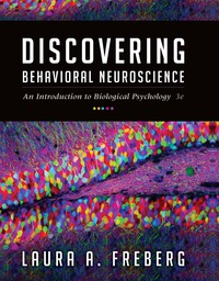 Discovering Behavioral Neuroscience: An Introduction to Biological Psychology, 3rd Edition – PDF ebook*