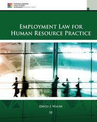 Employment Law for Human Resource Practice, 5th Edition – PDF ebook*