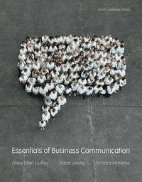 Essentials of Business Communication, 8th Edition – PDF ebook*