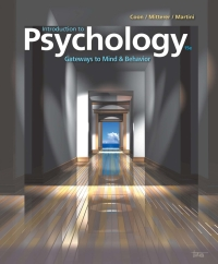 Introduction to Psychology: Gateways to Mind and Behavior, 15th Edition – PDF ebook*