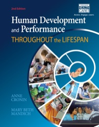 Human Development and Performance Throughout the Lifespan, 2nd Edition – PDF ebook*