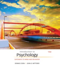 Introduction to Psychology: Gateways to Mind and Behavior, 14th Edition – PDF ebook*