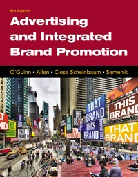 Advertising and Integrated Brand Promotion, 8th Edition – PDF ebook*
