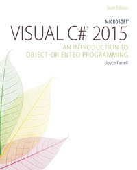 Microsoft Visual C# 2015: An Introduction to Object-Oriented Programming, 6th Edition – PDF ebook*