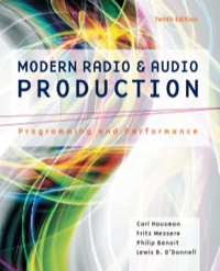Modern Radio and Audio Production: Programming and Performance, 10th Edition – PDF ebook*