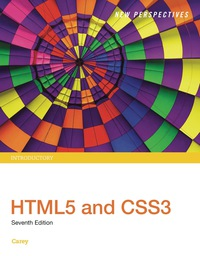 New Perspectives HTML5 and CSS3: Introductory, 7th Edition – PDF ebook*