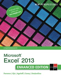 New Perspectives on Microsoft Excel 2013, Comprehensive Enhanced Edition, 1st Edition – PDF ebook*