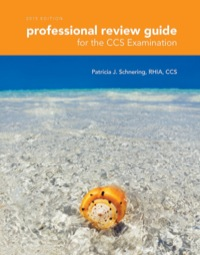 Professional Review Guide for the CCS Examinations, 2015 Edition, 1st Edition – PDF ebook*