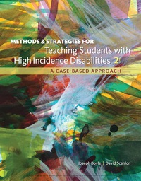 Methods and Strategies for Teaching Students with High Incidence Disabilities, 2nd Edition – PDF ebook*